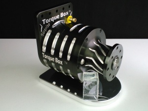 This anodized Torque Box won an International Media Award at the SEMA Show.